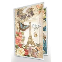 Pochette de correspondance 'Parisian Bouquet'