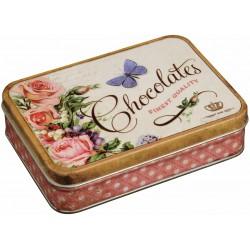 Boîte Rectangulaire PM Nostalgie 'Chocolates Finest Quality'
