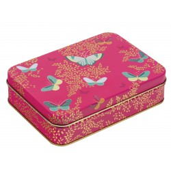 Boîte Rectangulaire PM Sara Miller 'Pink Butterfly'