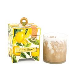 Bougie Parfumée 184 g et boîte cadeau  - Lemon Basil