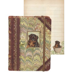 Pocket Carnet Notes Tiny 'Chien'