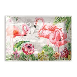Coupelles en verre / Porte-savons 'Flamingo'