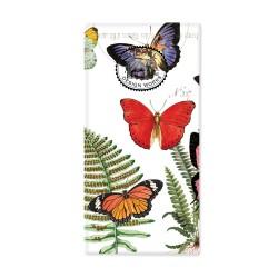 Paquet de 10 mouchoirs en papier - Papillon