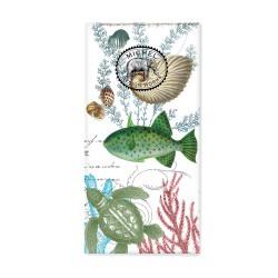 Paquet de 10 mouchoirs en papier - Sea Life