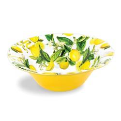 Saladier grand modèle en mélamine - Lemon Basil