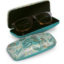 Etui à lunettes (cachemir clair) - Jewel Tones