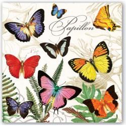 Serviettes Cocktail 'Papillon'