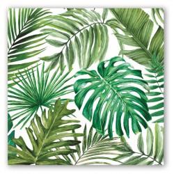 Serviettes en papier carrées 'Palm Breeze'