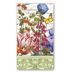 Serviettes en papier rectangulaires 'Summer Days'