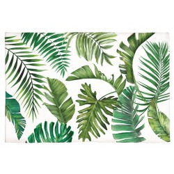Tapis en coton 'Palm Breeze'