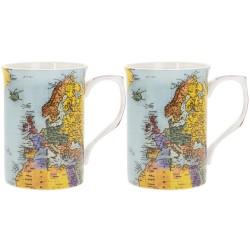 Coffret 2 mugs 'Word Traveller'