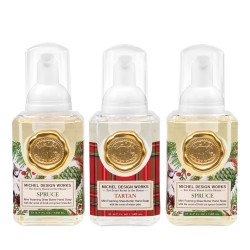 Set 3 savons moussants (140 ml) - Spruce/Tartan/Spruce