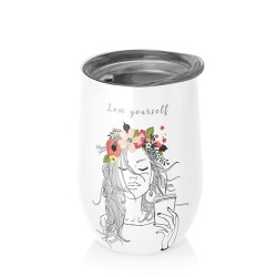 Mug bureau 420 ml (love yourself) ' BIOLOCO OFFICE '