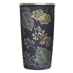 Mug de voyage isotherme Slide Cup 420ml Golden Leaves Chic Mic