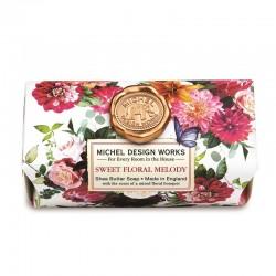Savon ovale en barre 246g - Sweet Floral Melody