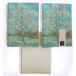 Carnet de notes à spirales - Van Gogh