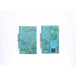 Carnet de notes et crayon à papier -Van Gogh