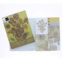 Pochette 7 blocs notes autocollants (18x14 cm) - Van Gogh