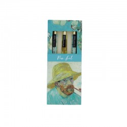 Coffret 3 stylos à bille - Van Gogh