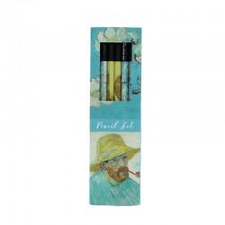 Coffret 6 crayons de papier - Van Gogh