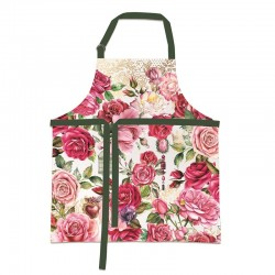 Tablier 100% coton ajustable - Royal Rose