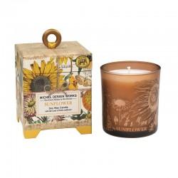 Bougie Parfumée 184 g et boîte cadeau - Sunflower