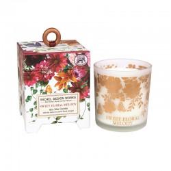 Bougie Parfumée 184 g et boîte cadeau - Sweet Floral Melody