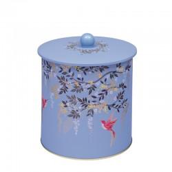 Boîte à biscuits en métal - Blue Birds - Sara Miller London