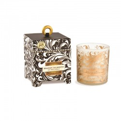 Bougie Parfumée 184 g et boîte cadeau - Honey Almond