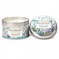 Bougie parfumée 113g en boîte métal - Ocean Tide