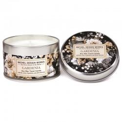 Bougie parfumée 113g en boîte métal - Gardenia