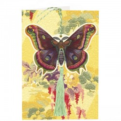 Carte double GM et enveloppe - Fandangles - Common Butterfly