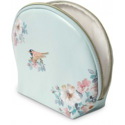 Trousse aspect cuir avec broche (bird) - Natural Classics