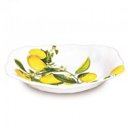 Plat creux à pates en mélamine - Lemon Basil