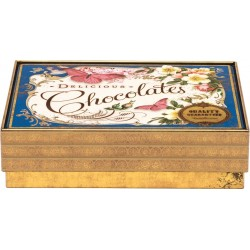 Boîte rectangulaire MM en métal - Nostalgia - Delicious Chocolates