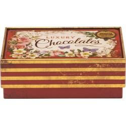 Boîte rectangulaire PM en métal - Nostalgia - Luxury Chocolates