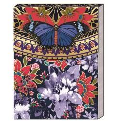 Pocket carnet de notes 'Butterfly medalion'