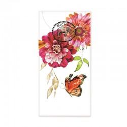 Paquet de 10 mouchoirs en papier - Sweet Floral Melody