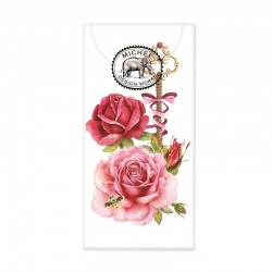 Paquet de 10 mouchoirs en papier - Royal Rose