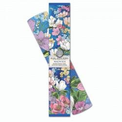 6 feuilles de papier parfumé et boîte cadeau - Magnolia