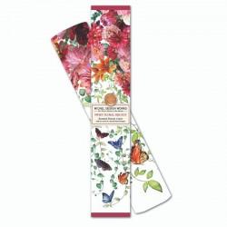 6 feuilles de papier parfumé et boîte cadeau - Sweet Floral Melody
