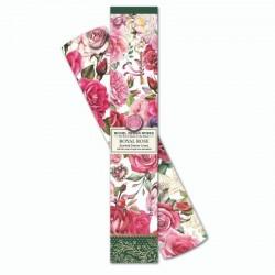 6 feuilles de papier parfumé et boîte cadeau - Royal Rose