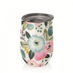 Mug de bureau 420ml Bioloco Office Pastel Flowers - Chic Mic