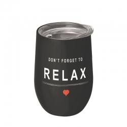 Mug de bureau 420ml Bioloco Office Don't Forget to Relax - Chic Mic