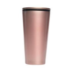 Mug à fermeture magnetique isotherme 420 ml Rose Gold - Chic Mic