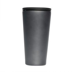 Mug à fermeture magnetique isotherme 420 ml Anthracite - Chic Mic