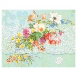 Pochette 10 cartes et 10 enveloppes - Market Bouquet