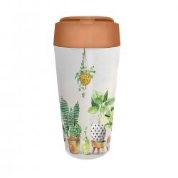 Mug de voyage 420ml en matiere vegetale Plant Friends - Bioloco Plant
