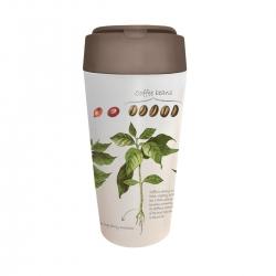 Mug de voyage 420ml en matiere vegetale Coffee - Bioloco Plant