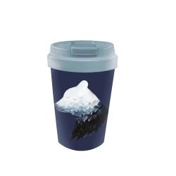 Mug de voyage 350ml en matiere vegetale Mountain bear - Bioloco Plant